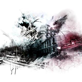 Photoshop City - Obrázkek zdarma pro iPad Air