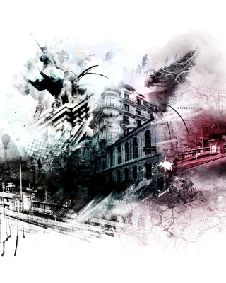 Photoshop City - Obrázkek zdarma pro Nokia Asha 502
