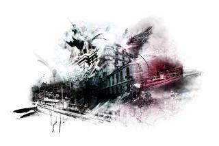 Photoshop City - Obrázkek zdarma pro Samsung Galaxy S 4G