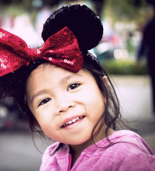Cute Minnie Mouse - Obrázkek zdarma pro 128x128
