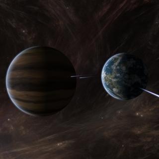 Orbit of Jupiter - Obrázkek zdarma pro iPad