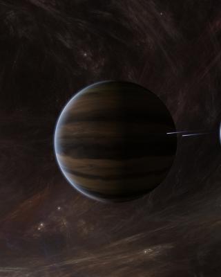 Orbit of Jupiter - Obrázkek zdarma pro Nokia Asha 311