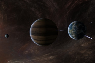 Free Orbit of Jupiter Picture for Android, iPhone and iPad