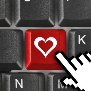 Love Keyboard - Obrázkek zdarma pro 320x320