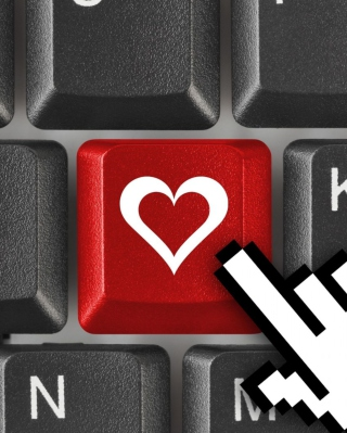 Love Keyboard - Obrázkek zdarma pro Nokia Asha 305