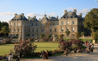 Luxembourg Palace Background for Android, iPhone and iPad