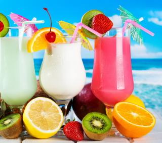 Summer Drinks - Obrázkek zdarma pro iPad 3
