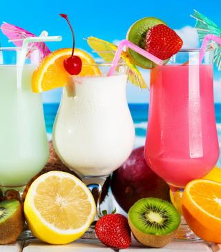 Summer Drinks - Obrázkek zdarma pro iPhone 4S