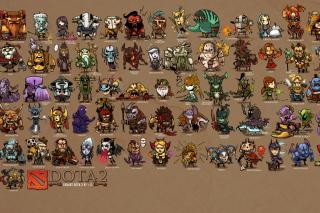 Dota 2 Characters - Fondos de pantalla gratis Stub device