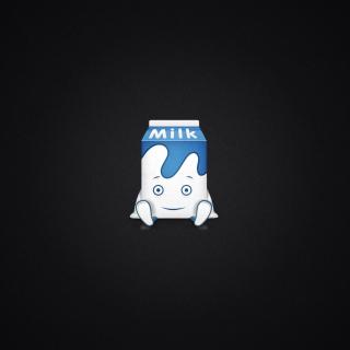 Funny Milk Pack - Obrázkek zdarma pro iPad