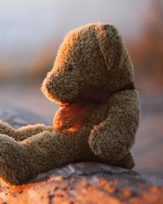 Lonely Teddy Bear - Obrázkek zdarma pro 360x640