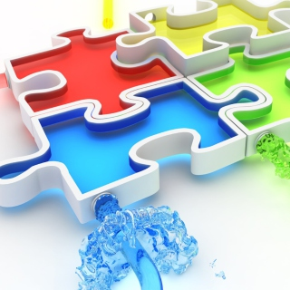Colorful Puzzles - Obrázkek zdarma pro 1024x1024