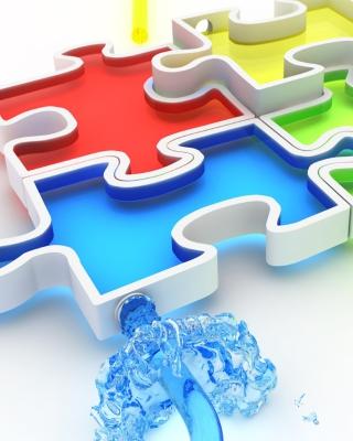 Colorful Puzzles - Obrázkek zdarma pro Nokia Asha 203