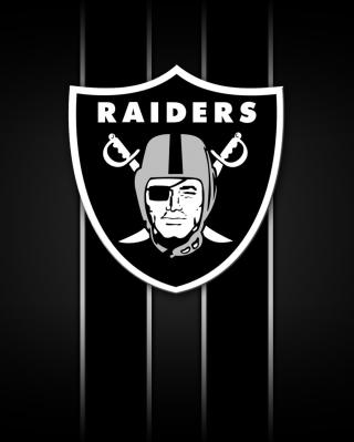 Oakland Raiders - Obrázkek zdarma pro Nokia 206 Asha