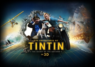 The Adventures Of Tintin 3D Wallpaper for Android, iPhone and iPad