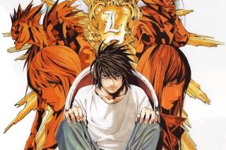 Death Note - Obrázkek zdarma pro 320x240