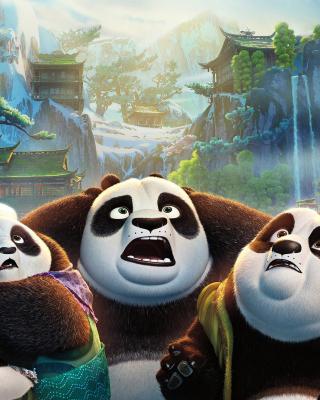 Kung Fu Panda 3 - Obrázkek zdarma pro Nokia X3-02