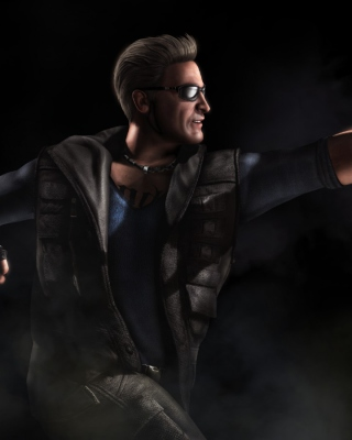 Johnny Cage Mortal Kombat 10 - Obrázkek zdarma pro 132x176