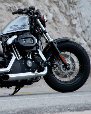 Harley Davidson Sportster 1200 - Obrázkek zdarma pro 132x176