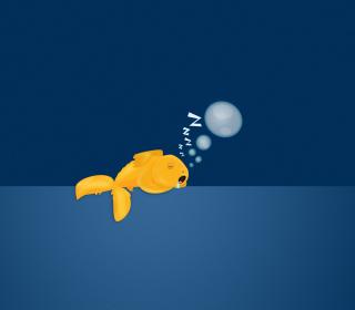 Sleepy Goldfish - Obrázkek zdarma pro iPad mini 2