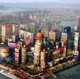 Sims City - Obrázkek zdarma pro iPad mini