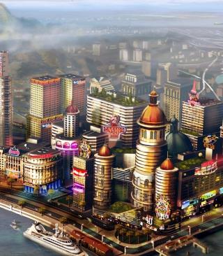 Sims City - Obrázkek zdarma pro Nokia Asha 308