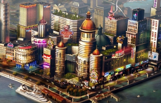 Sims City - Obrázkek zdarma pro 1366x768