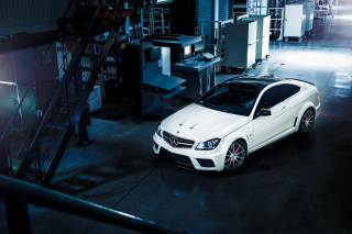 Mercedes Benz C63 AMG Wallpaper for Android, iPhone and iPad