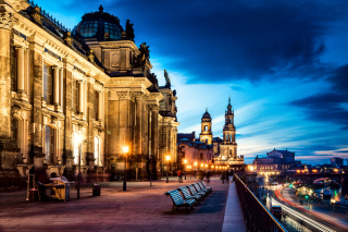 Altstadt, Dresden, Germany Wallpaper for Android, iPhone and iPad