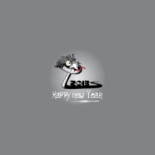 Happy 2013 Snake Year - Obrázkek zdarma pro iPad