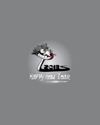 Happy 2013 Snake Year - Obrázkek zdarma pro 320x480