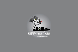 Happy 2013 Snake Year - Obrázkek zdarma pro Android 540x960