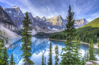 Lake in National Park Picture for Android, iPhone and iPad