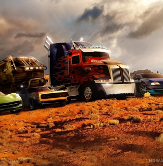 Transformers - Obrázkek zdarma pro iPad