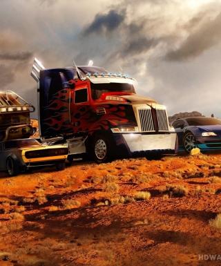 Transformers - Obrázkek zdarma pro Nokia 206 Asha