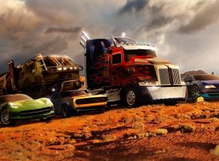 Transformers - Obrázkek zdarma pro Sony Tablet S