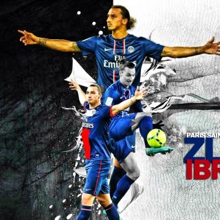 Zlatan Ibrahimovic - Obrázkek zdarma pro 2048x2048