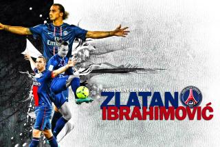 Zlatan Ibrahimovic - Obrázkek zdarma pro Samsung Galaxy Tab 4 8.0