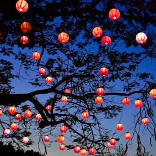 Chinese New Year Lanterns - Obrázkek zdarma pro iPad 2