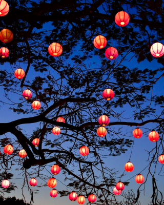 Chinese New Year Lanterns - Obrázkek zdarma pro Nokia Lumia 810
