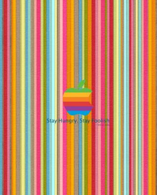 Stay Foolish - Obrázkek zdarma pro iPhone 6