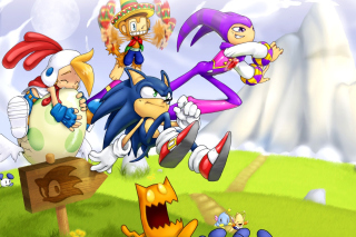 Sonic the Hedgehog - Obrázkek zdarma pro Widescreen Desktop PC 1920x1080 Full HD