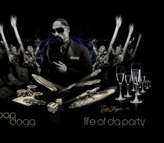 Snoop Dogg - Obrázkek zdarma pro iPad