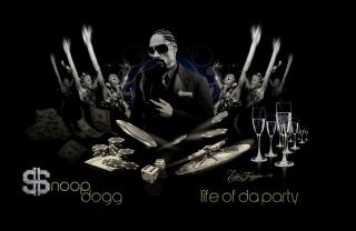 Snoop Dogg - Obrázkek zdarma pro 1024x600