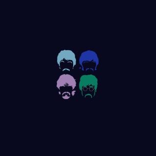 The Beatles - Obrázkek zdarma pro 1024x1024
