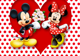 Mickey And Minnie Mouse - Obrázkek zdarma pro Widescreen Desktop PC 1920x1080 Full HD