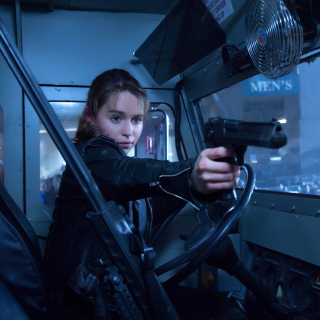 Terminator 5 Genesis - Obrázkek zdarma pro 320x320