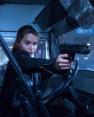Terminator 5 Genesis - Obrázkek zdarma pro iPhone 5C