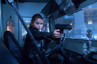 Terminator 5 Genesis - Obrázkek zdarma pro Android 600x1024