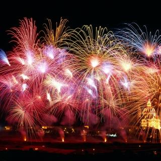New Years Fireworks - Obrázkek zdarma pro iPad mini